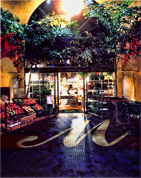 Morton's Entrance with Fruits & Vegetables